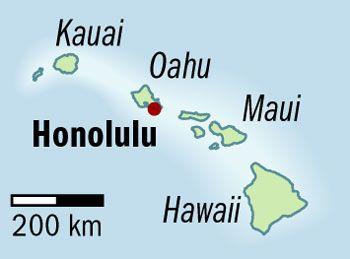 Sand in den Schuhen von oder aus Hawaii?