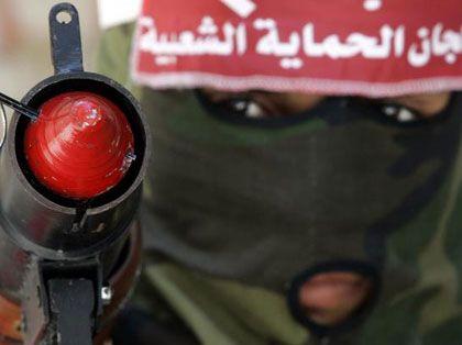 Kampf im Flüchtlingslager: Militanter Palästinenser