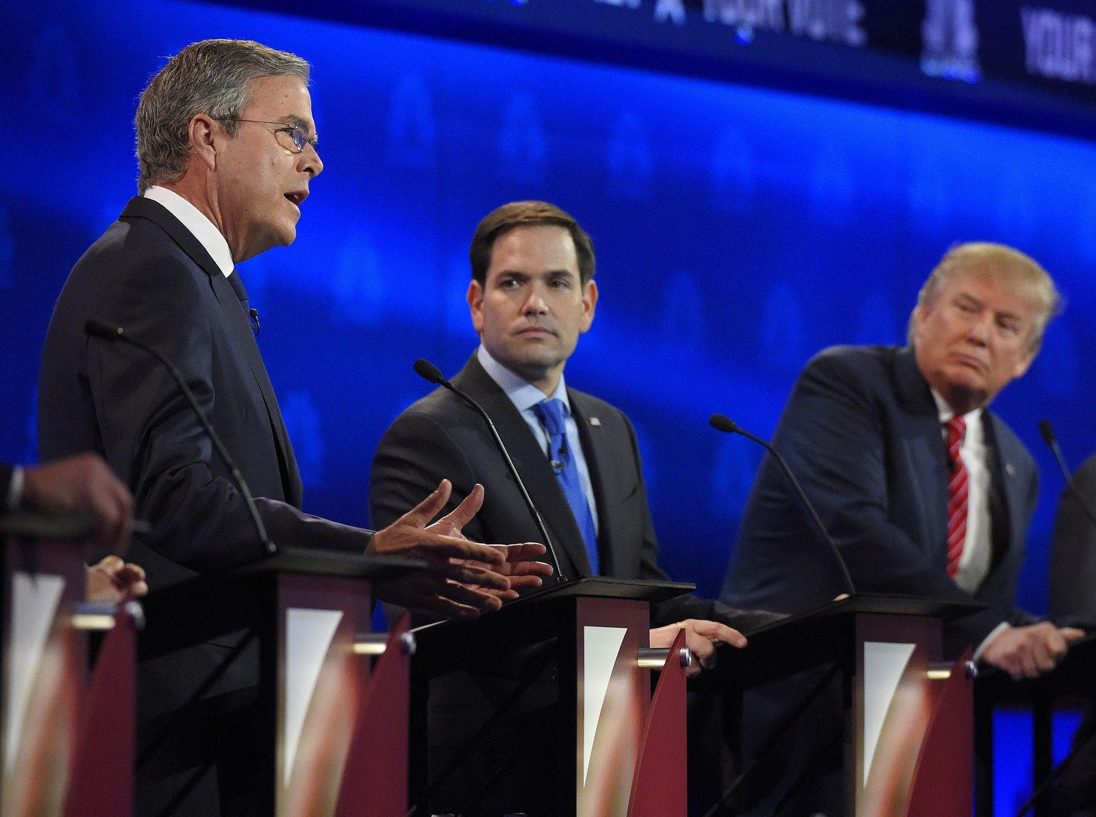 TV-Debatte Republikaner