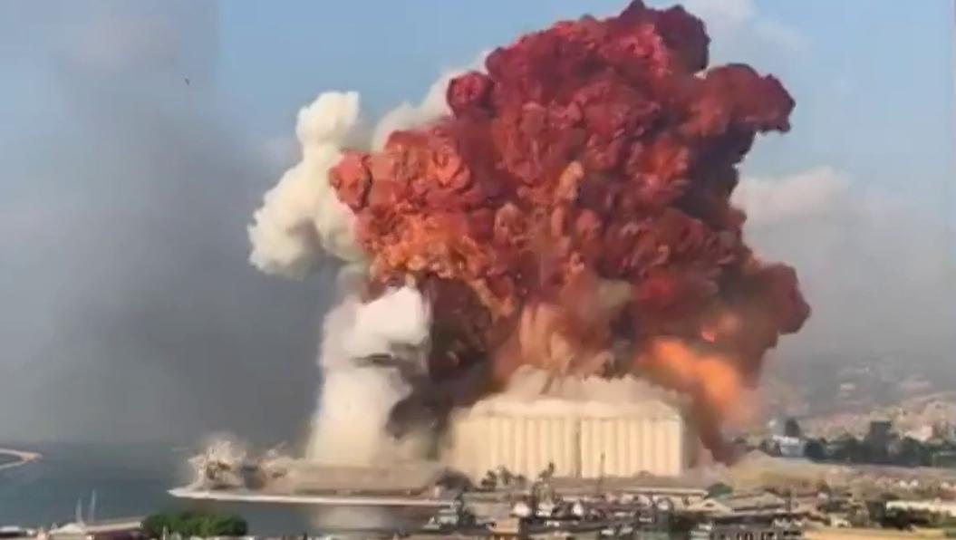 Beirut: Amateuraufnahmen zeigen Detonationen
