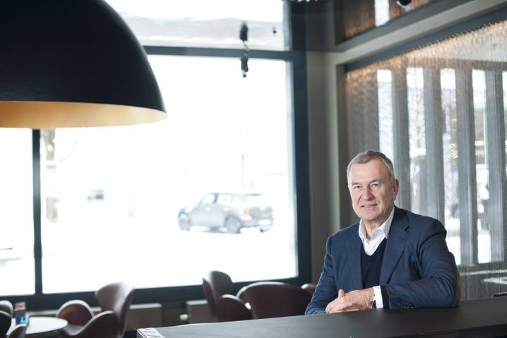 """Motel-One-Chef Müller (Archivbild): """"Die Frage ist nicht so sehr, wie wir durch die Krise kommen, sondern was hinterher sein wird"""""""