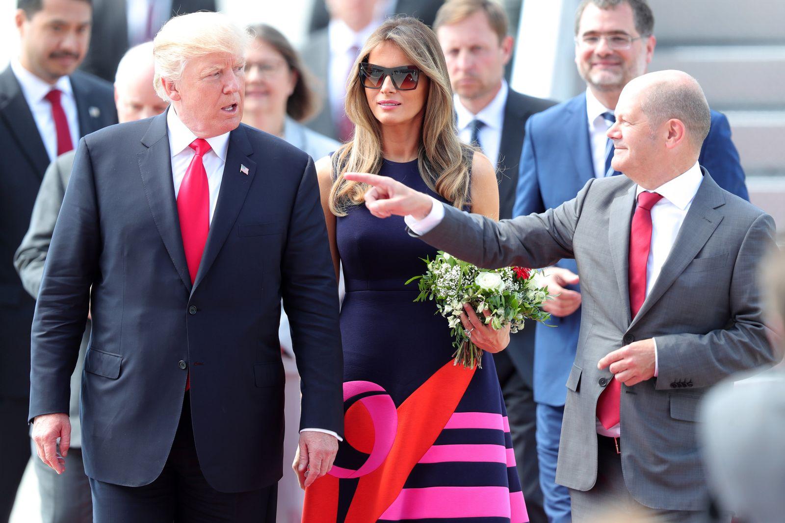 G20 / Trump / Scholz
