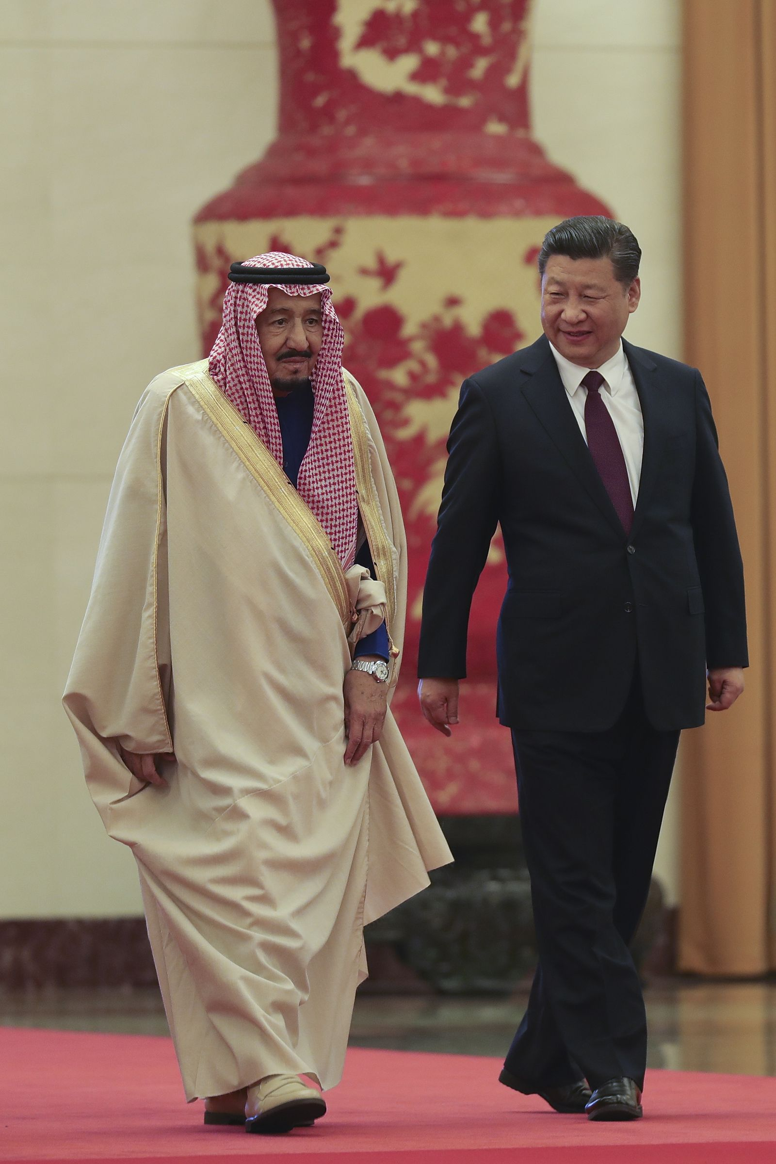 Xi Jinping König Salman