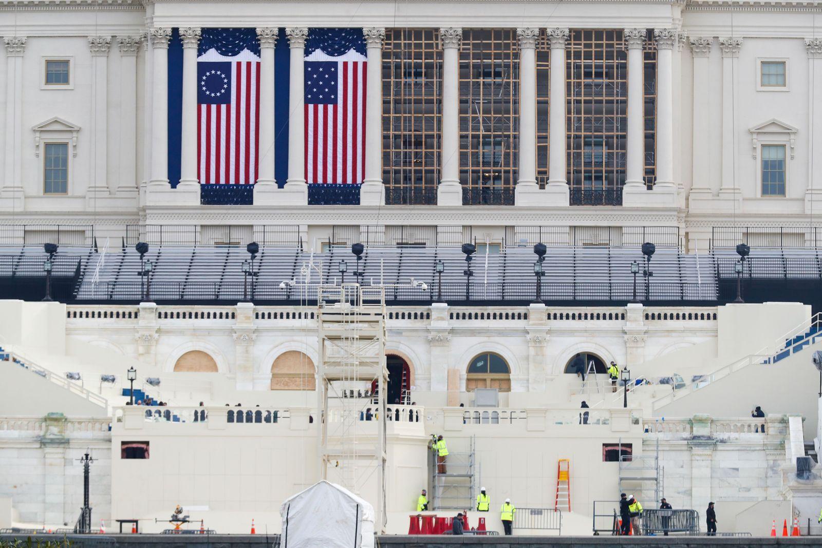 US Capitol Security, Washington, USA - 11 Jan 2021