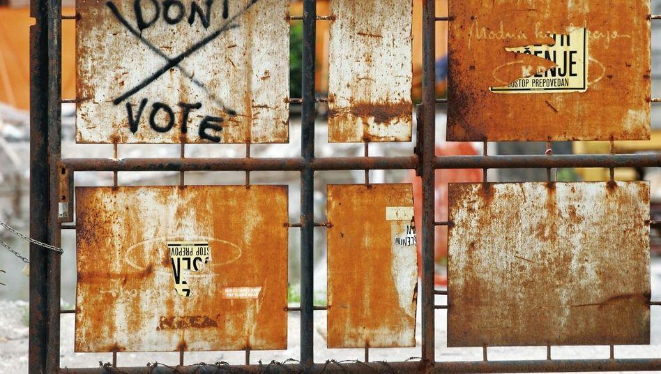 Graffiti in Slowenien: Teilhabe durch Losentscheid