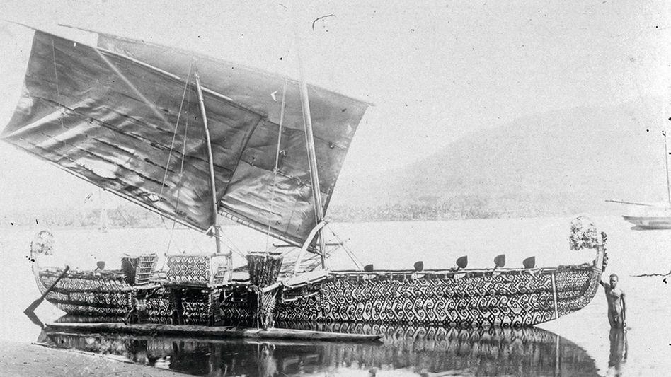 Luf-Boot auf der Insel Matupi, 1903