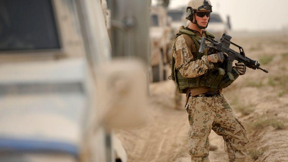 Bundeswehrsoldat in Afghanistan: Angst vor mehr Anschlägen