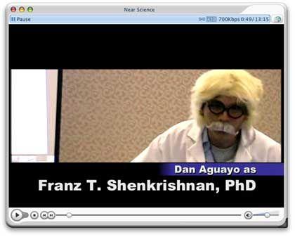 Einstein-Double in Aktion: Seriöser Wissenschaftler?