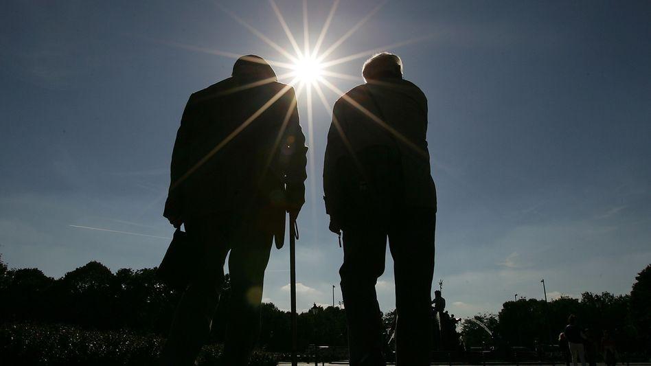 Immer Richtung Sonne: Die Deutschen werden nicht nur älter - sondern auch gesünder, produktiver und energiesparender