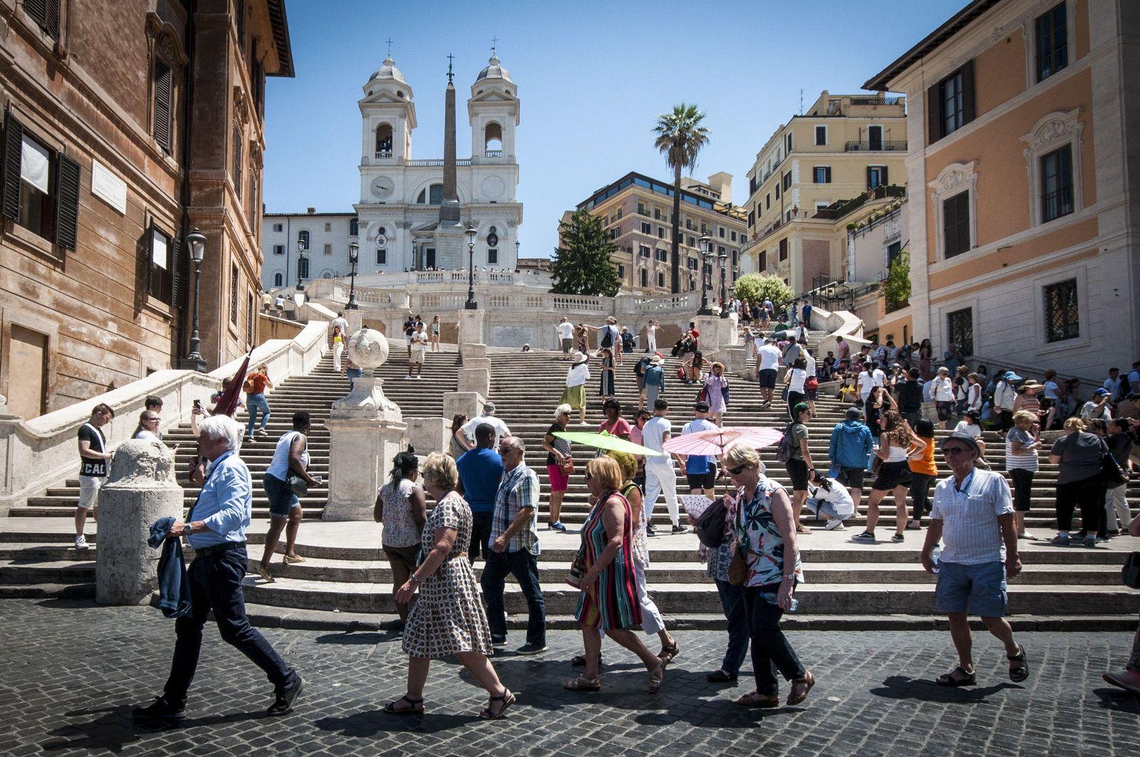 EINMALIGE VERWENDUNG Italien/ Tourismus
