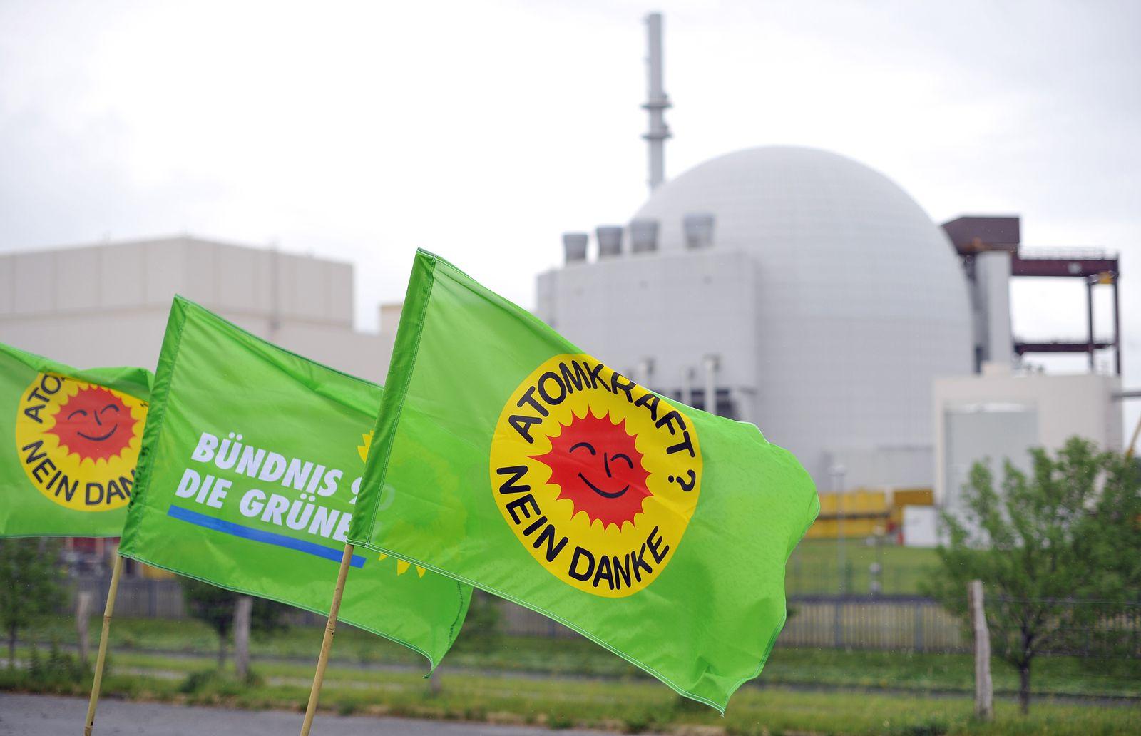 NICHT VERWENDEN Grüne/ Atom/ Ausstieg/ AKW