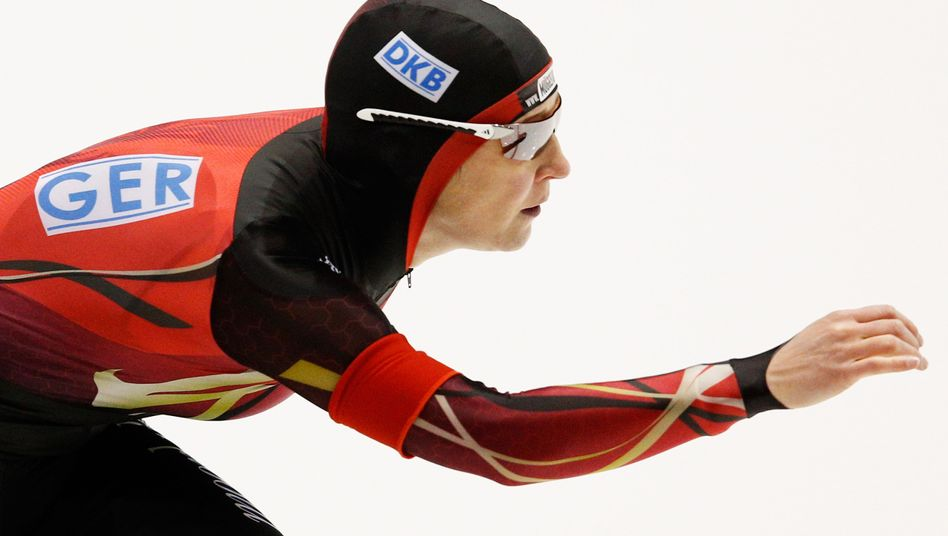 Eisschnellläuferin Pechstein: Platz 18 beim Massenstart