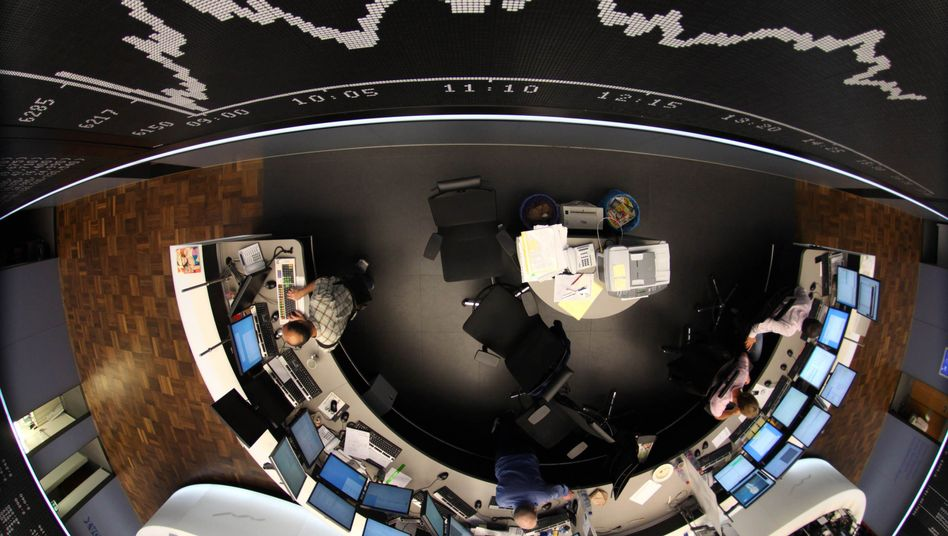 Dax-Anzeige bei der Frankfurter Börse: Misstrauen unter Banken nimmt bereits zu