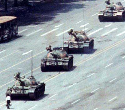 1989 auf dem Platz des Himmlischen Friedens: Bouvé fiel das Heucheln schwer