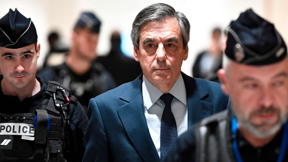 François Fillon wollte 2017 Präsident werden, jetzt steht er vor Gericht
