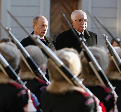Vladimir Putin / Vaclav Klaus
