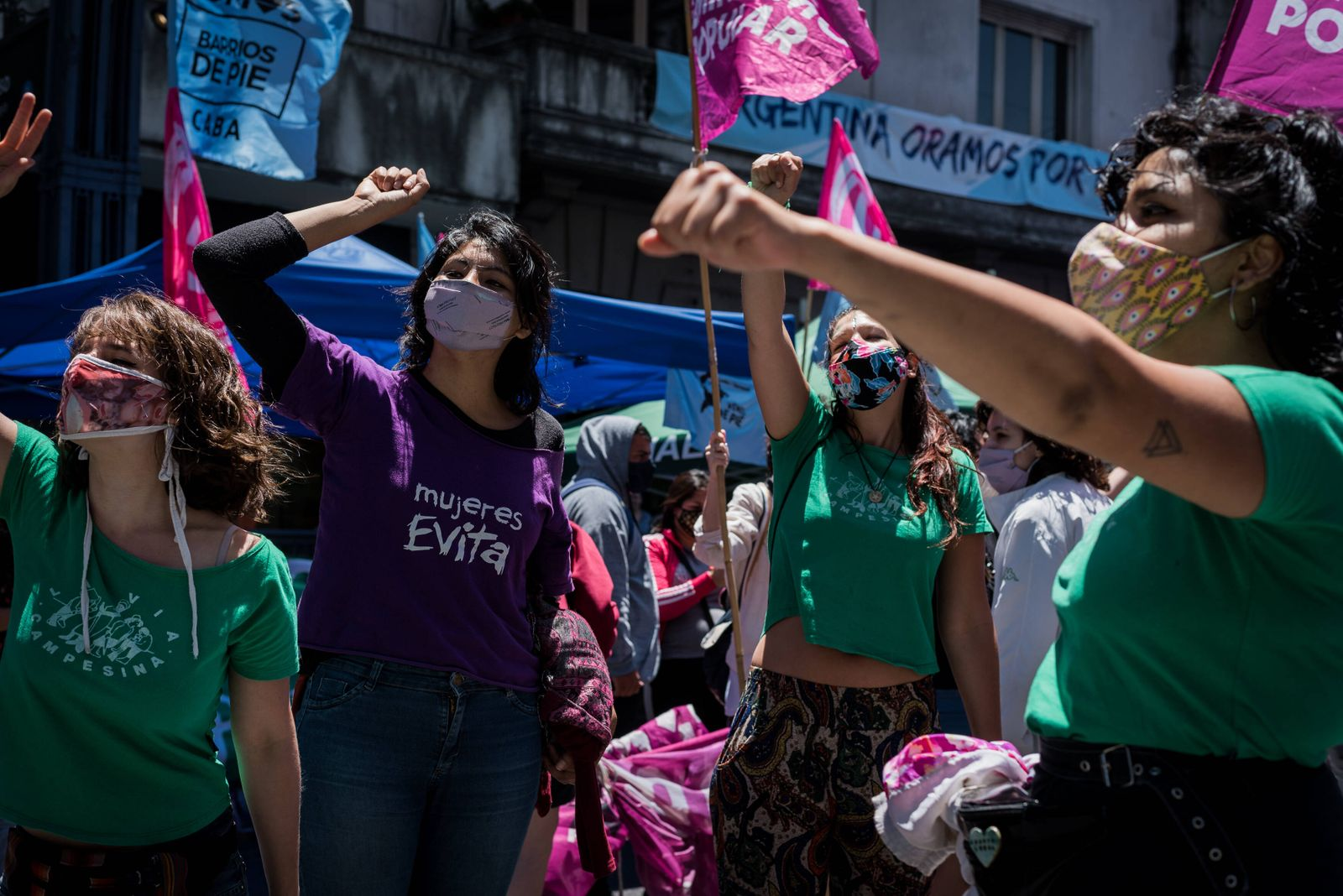 During the day, different activities took place and health professionals and teachers called for legal abortion PUBLICA