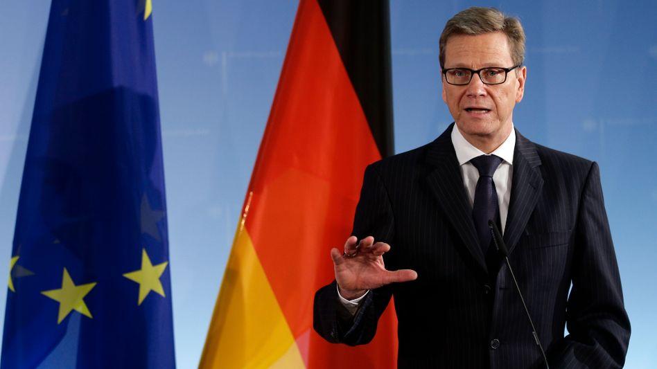 Guido Westerwelle: Der Außenminister sieht das Image Russlands beschädigt