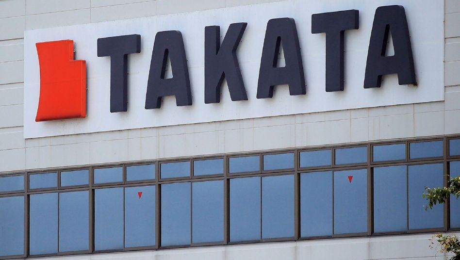 Takata-Logo in Aisho