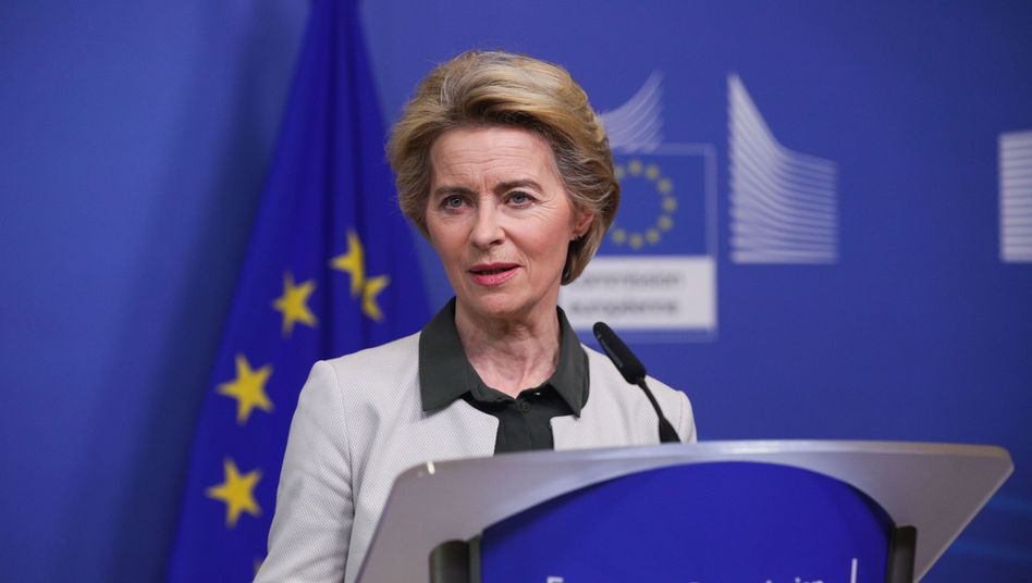 """Kommissionschefin Ursula von den Leyen: Kritiker sprechen von """"Zahlenvodoo"""""""