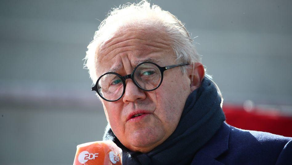 DFB-Präsident Fritz Keller: Strafanzeige führt zu staatsanwaltschaftlichen Ermittlungen