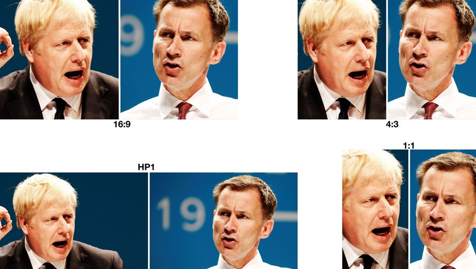 Boris Johnson, Jeremy Hunt: Kontrahenten im Tory-Machtkampf