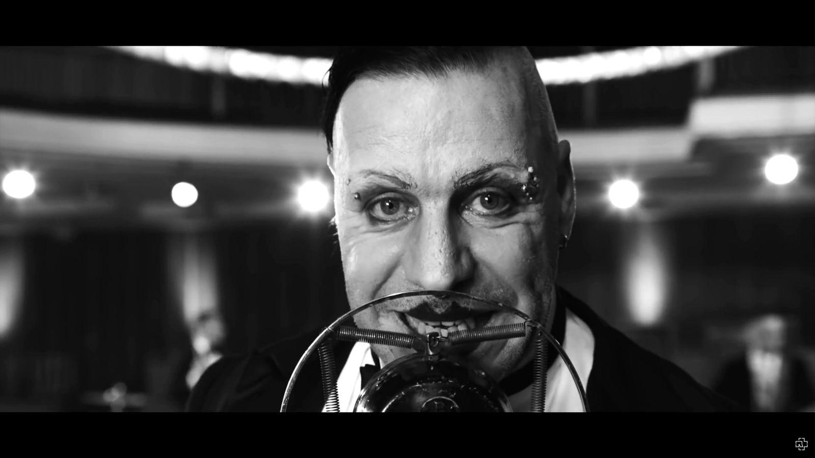 EINMALIGE VERWENDUNG Rammstein - Radio SCREENSHOT