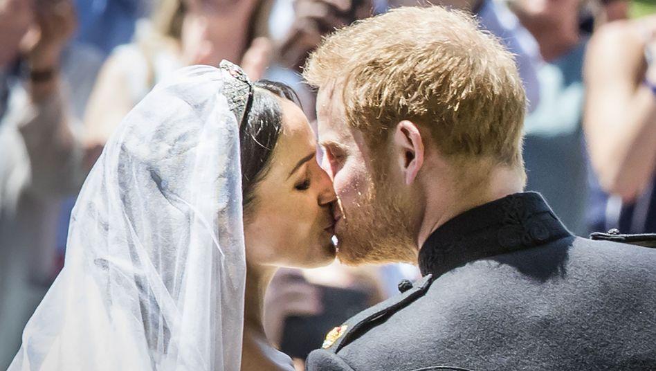 Royal Wedding von Prinz Harry und Meghan Markle: Ein Triumph - DER ...