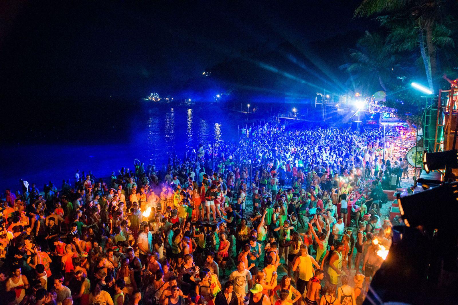Vollmond-Party/ Thailand
