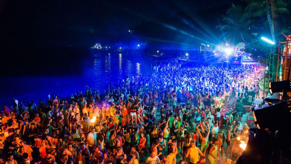 Full-Moon-Party auf Koh Phangan: Feiern nur noch unter Beobachtung