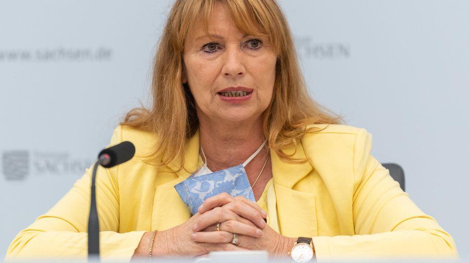 """Sachsens Gesundheitsministerin Köpping: """"Viel hängt davon ab, dass die Menschen Verantwortung übernehmen"""""""