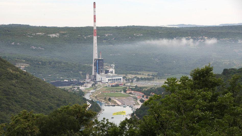 Kohlekraftwerk Plomin in Kroatien
