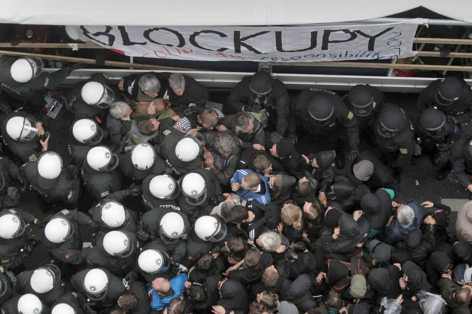 Proteste Frankfurt