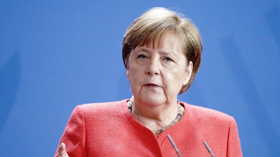 Angela Merkel, Bundeskanzlerin (CDU)