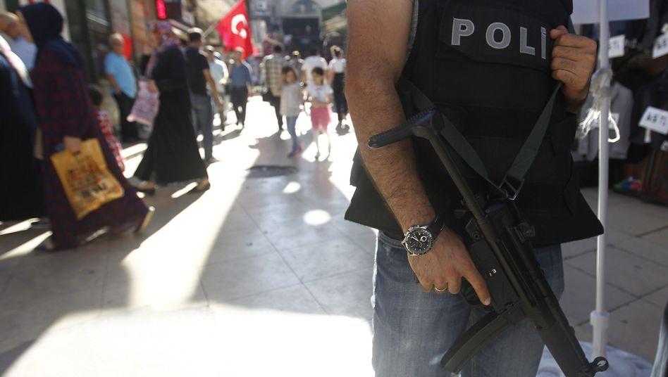 Türkischer Polizist (Archivbild)