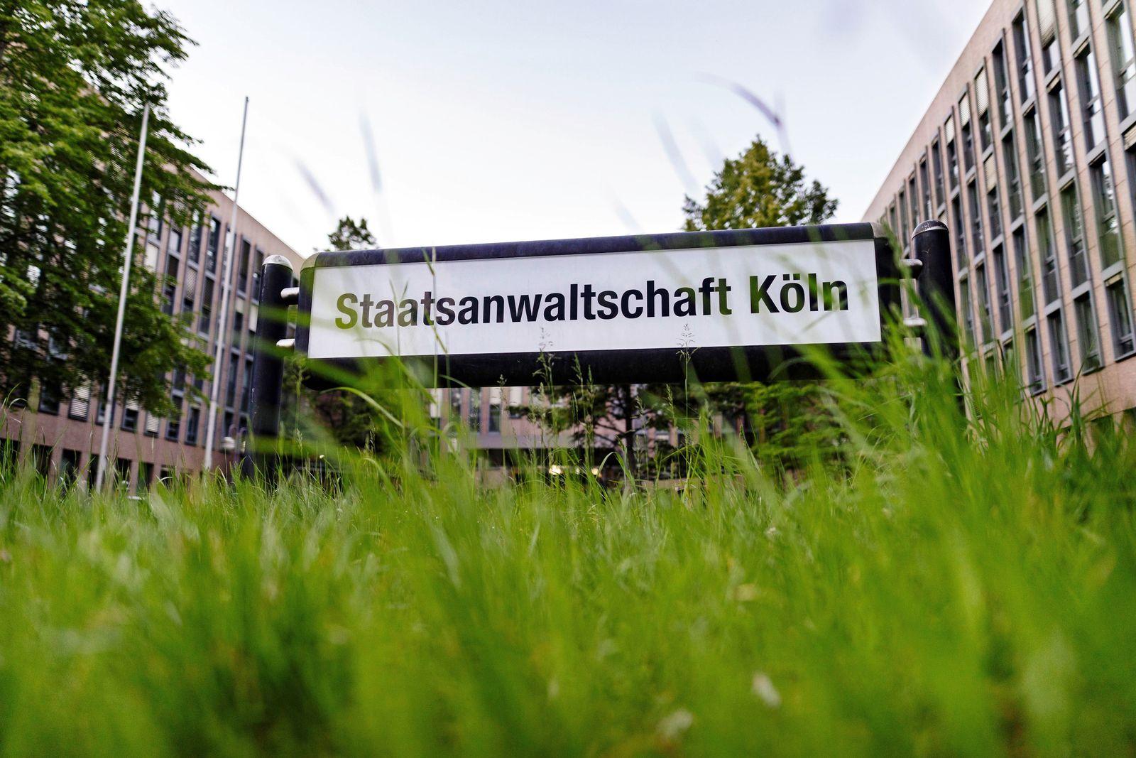 EINMALIGE VERWENDUNG Staatsanwaltschaft Köln