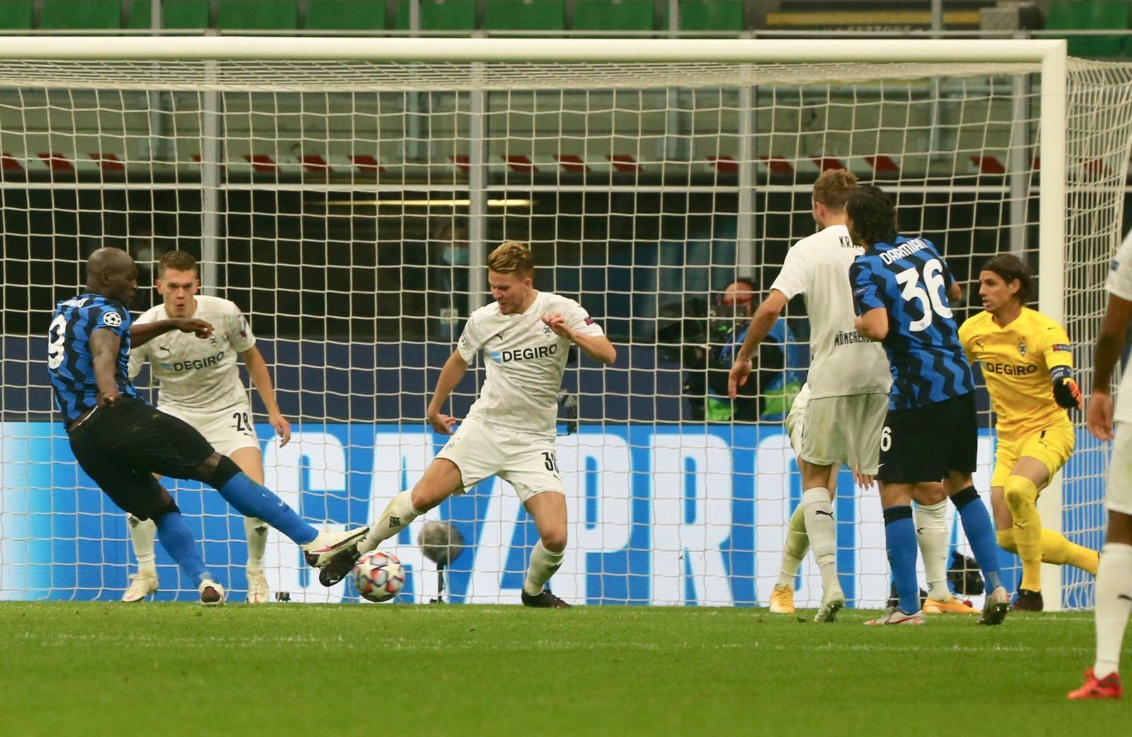 Borussia Monchengladbach Vs Inter Mailand Erst Glucklich Dann Unglucklich Der Spiegel