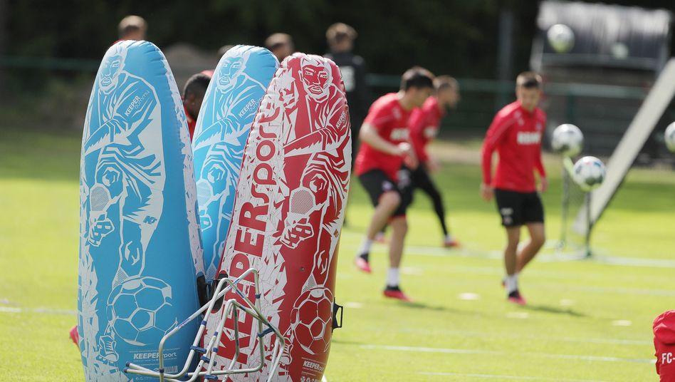Training beim 1. FC Köln