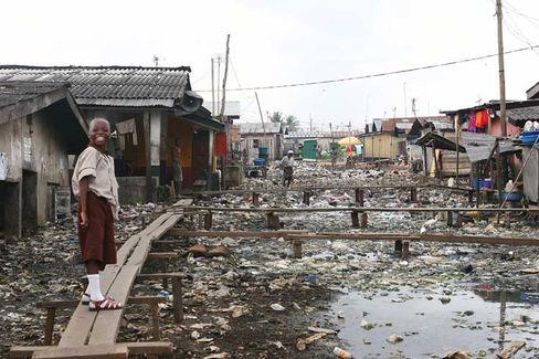 """A slum in Lagos, Nigeria: """"Center of Excellence"""""""