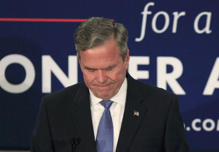 Vorwahl-Aussteiger Jeb Bush: Keine Chance gegen den Bulldozer