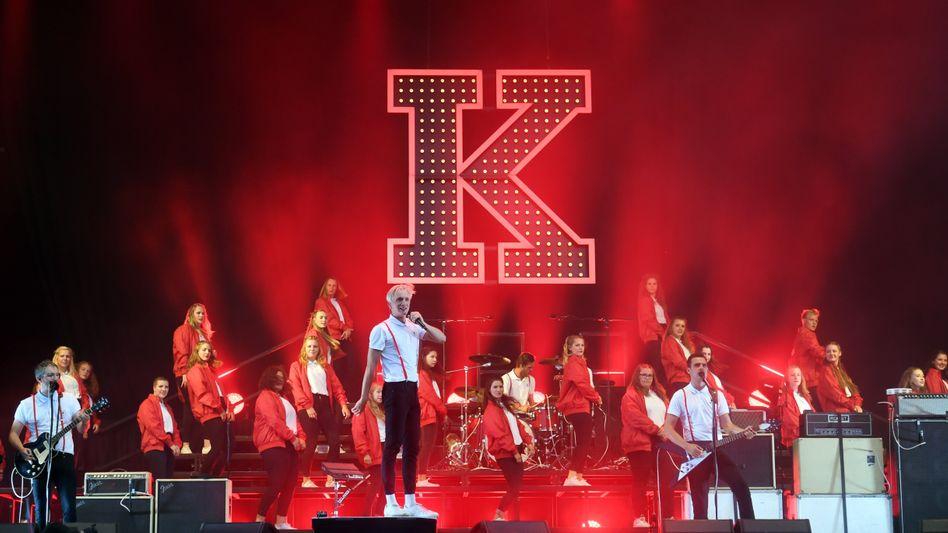Chemnitzer Band Kraftklub (Archivbild)
