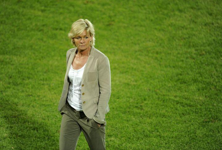 Silvia Neid als Bundestrainerin bei der Heim-WM 2011