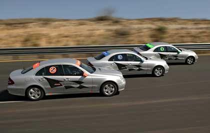 Diesel-Weltrekord: Werbewirksam stellte Mercedes im texanischen Laredo vor wenigen Monaten mehrere Selbstzünder-Bestmarken auf