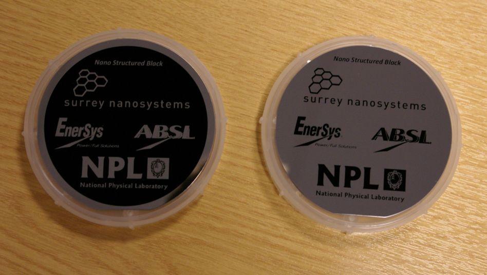 Perfektes Schwarz: Mit Nanoröhren gezüchtete schwarze Oberflächen