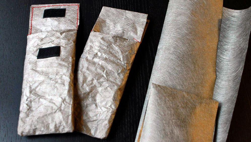 Handytasche aus Abschirmvlies: Dieses Funkloch passt in die Hostentasche
