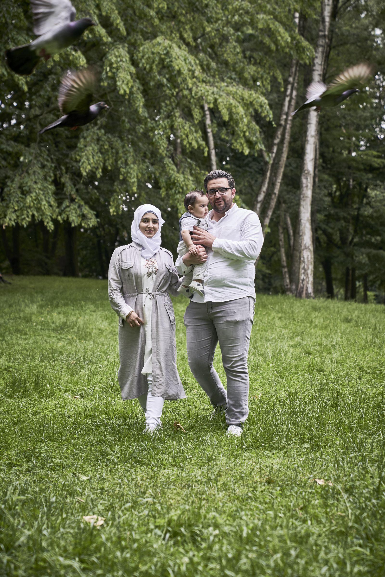 EINMALIGE VERWENDUNG SPIN SP 27/2019 S.38 Familie Karakouz aus Syrien