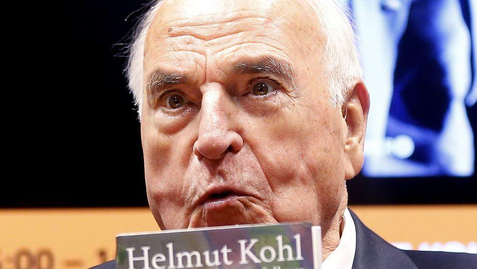 Kohl auf Frankfurter Buchmesse: Verrat war immer eine zentrale Kategorie seines Denkens