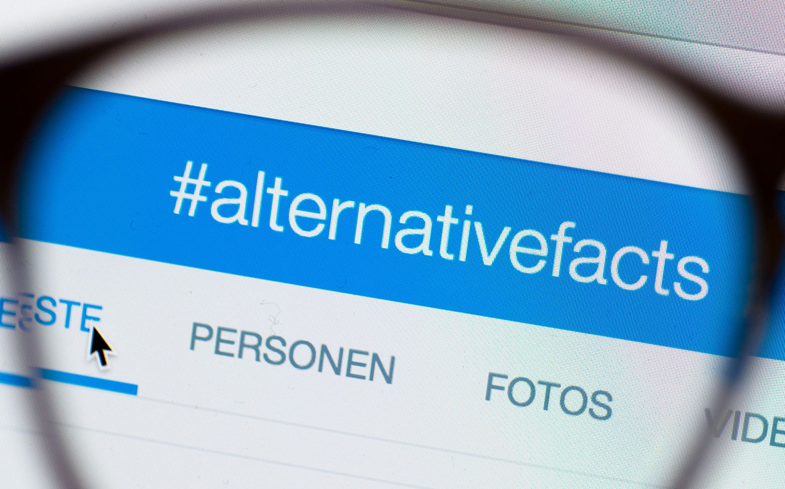 Hashtag #alternativefacts