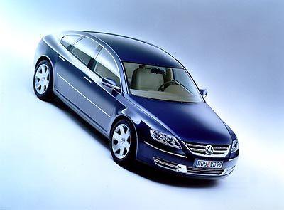 VW Studie Concept D: Das Design erinnert an den Passat