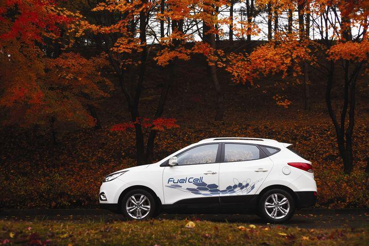 Hyundai ix35 Brennstoffzelle